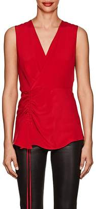 Derek Lam Women's Sleeveless Silk Blouse