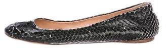 Reed Krakoff Patterned Ballet Flats