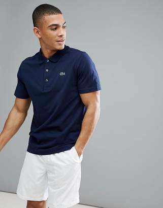 Lacoste Sport logo polo in navy