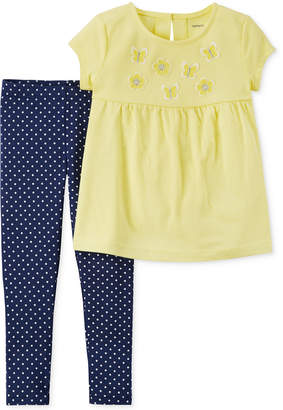 Carter's 2-Pc. Tunic & Leggings Set, Baby Girls