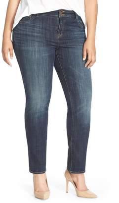Lucky Brand Emma High Rise Stretch Straight Leg Jeans