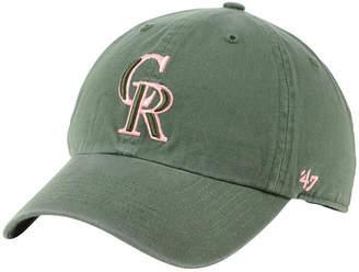 '47 Colorado Rockies Moss Pink Clean Up Cap