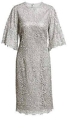 Teri Jon by Rickie Freeman Women's Lace Cocktail Sheath Dress