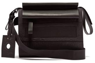 Craig Green Leather Trimmed Cross Body Bag - Mens - Black