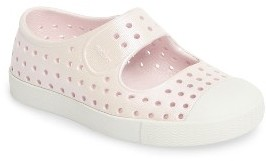 Infant Girl's Native Shoes Juniper Perforated Mary Jane $35 thestylecure.com