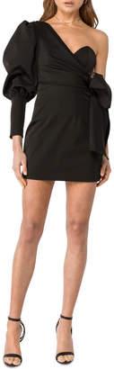Asilio Side Tie Mini Dress