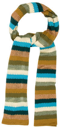 MissoniMissoni Striped Wool Scarf