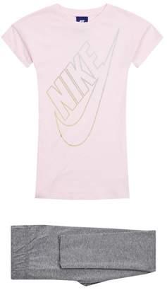 Nike Dress and Leggings Set
