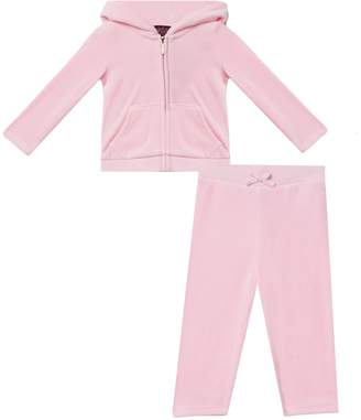 Juicy Couture Velour Encrusted Heart Track Set for Baby