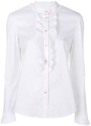 RED Valentino frill front shirt