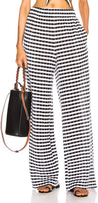 Flagpole Paulina Pant in Black & White Gingham | FWRD