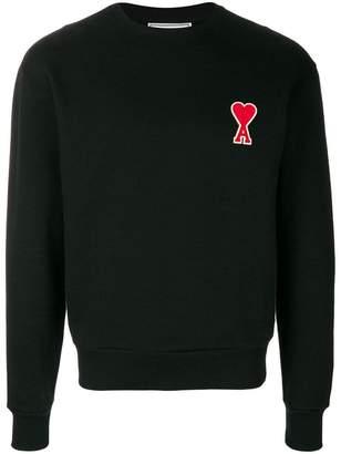 Ami Alexandre Mattiussi Sweatshirt With Ami De Coeur Patch