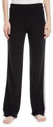 Neiman Marcus Luxury Cashmere Track Pants