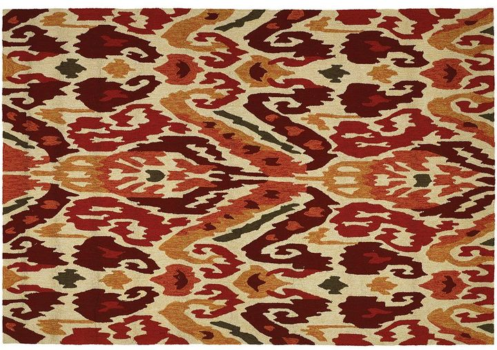Couristan Couristan Covington Delfina Ikat Indoor Outdoor Rug