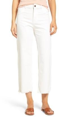 Women's Dl1961 High Waist Crop Wide Leg Jeans $198 thestylecure.com