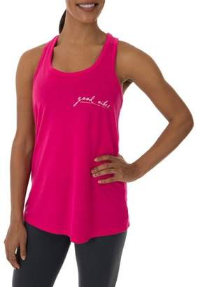 Athletic Works Women's Fitspiration Active Graphic Tank