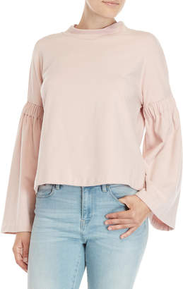 Vince Camuto Blush Bell Sleeve Pullover