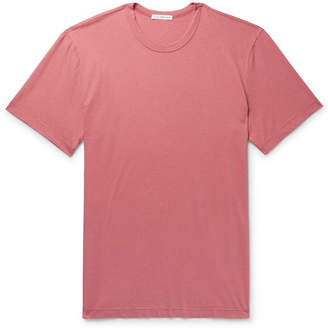 James Perse Slim-Fit Cotton-Jersey T-Shirt - Pink