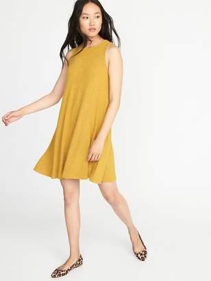 Old Navy Plush-Knit Sleeveless Swing Dress for Women