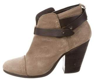 Rag & Bone Suede Harrow Ankle Boots