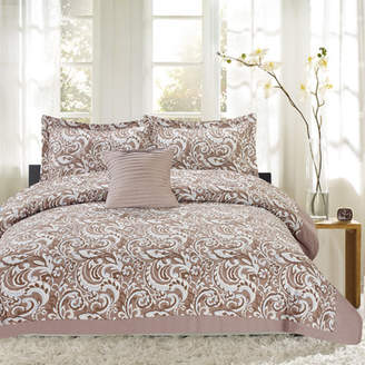 Sweet Home Collection City Paisley 4 Piece Comforter Set