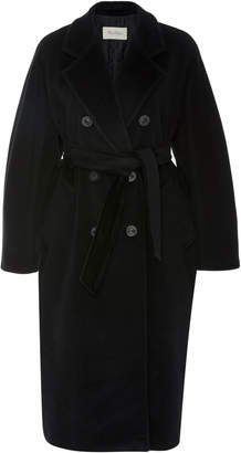 Max Mara Madame Double-Breasted Wool And Cashmere-Blend Coat