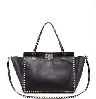 Valentino Rockstud Double-Handle Tote Bag