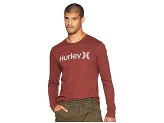 Hurley One Only Push Through Long Sleeve Tee