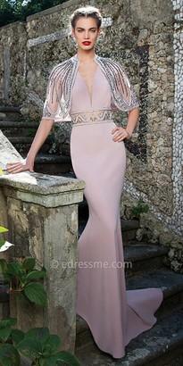 Tarik Ediz Volume Evening Dress $1,496 thestylecure.com