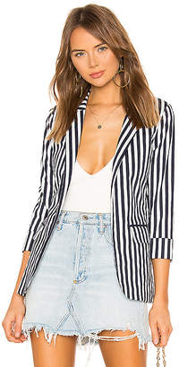 superdown Natalie Striped Blazer
