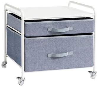 Pottery Barn Teen Supercool Fridge Cart, Chambray