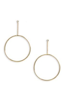 Women's Shashi Lauren Hoop Earrings $46 thestylecure.com