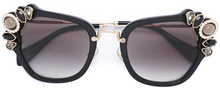 Miu MiuMiu Miu Eyewear oversized glasses