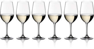 Riedel Vinum Riesling/Zinfandel Wine Glasses 6 Piece Value Set