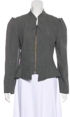 Roland Mouret Wool Structured Jacket