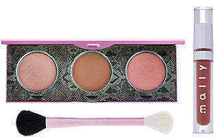 Mally Beauty Mally's Signature Glow Face & Lip 3-piece Collection