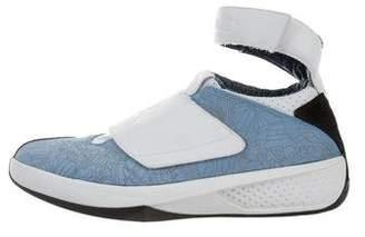 Nike Jordan 2005 OG 20 West Coast Blue High-Top Sneakers