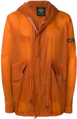 Mr & Mrs Italy mid-length raincoat