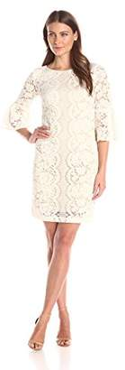 Julian Taylor Women's Lace Sheath Dress