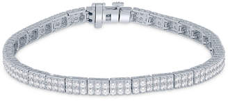 Macy's Diamond Modular Tennis Bracelet (3 ct. t.w.) in 14k White Gold