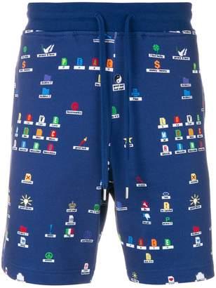 Love Moschino desktop print shorts