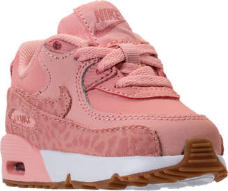 Nike Girls' Toddler 90 SE Leather Running Shoes