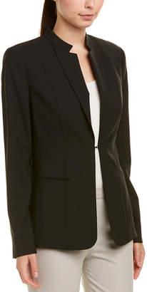 Elie Tahari Wool-Blend Jacket