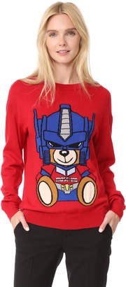 Moschino Transformers Bear Sweater $595 thestylecure.com