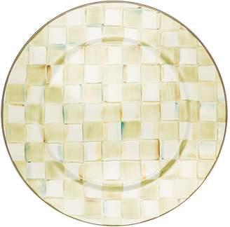 Mackenzie Childs Parchment Check Enamel Serving Platter (41.5cm)