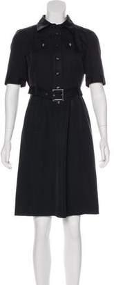 Tory Burch Silk Belted Dress