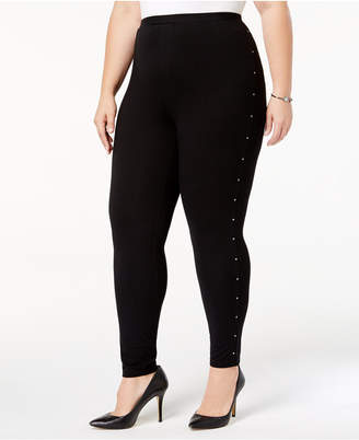 Style&Co. Style & Co Plus Size Studded Leggings