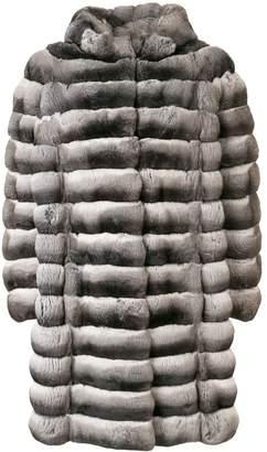 Liska Doreen hooded oversized coat