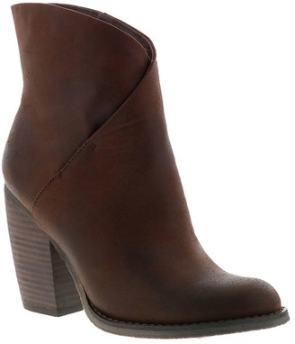 Sbicca Asymmetrical Foldover Ankle Booties - Bennington