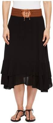 Scully Charlotte Skirt w/ Belt Women's Skirt